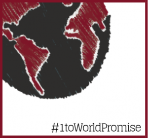 #1toWorld meets Promise Graphic